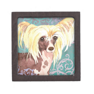 Elegant Chinese Crested Gift Box