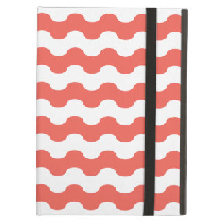 Elegant choral Cover iPad of strips in zigzag Cover For iPad Air