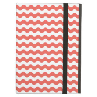 Elegant choral Cover iPad of strips in zigzag iPad Air Case