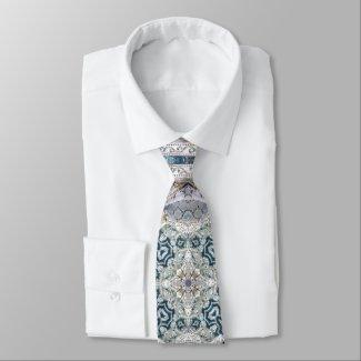 Elegant Christian Baroque Pattern Tie