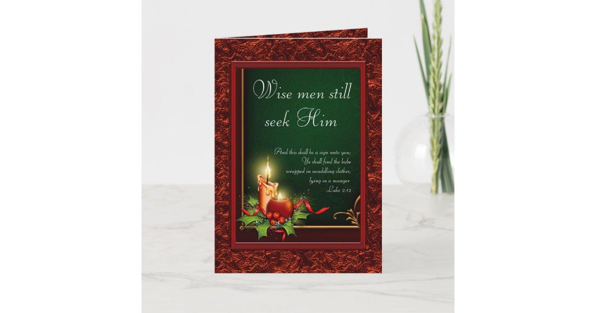 Elegant Christian Christmas Cards | Zazzle.com