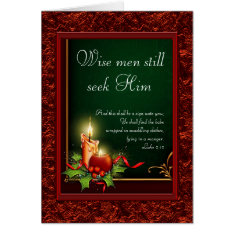 Elegant Christian Christmas Cards at Zazzle