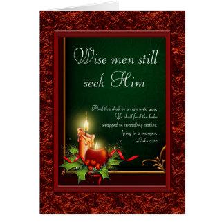 Elegant Christian Christmas Cards