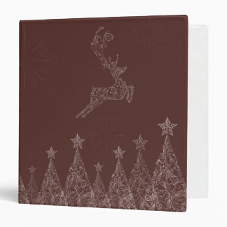 Elegant Christmas Vinyl Binder