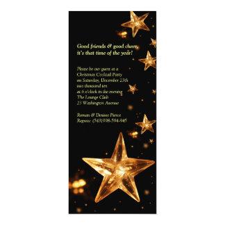 Elegant Christmas Cocktail Party Invitation
