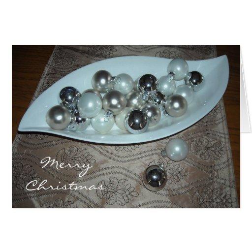 Elegant Christmas Decorations Card