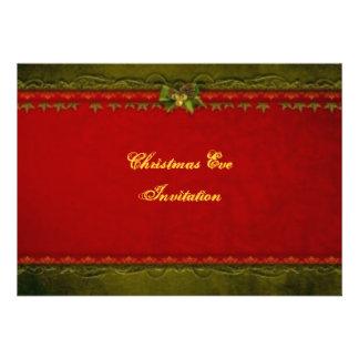 Elegant Christmas Eve Invitation