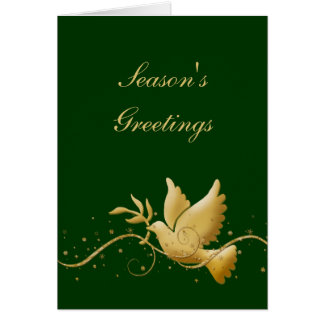 Elegant Christmas holiday photo Card