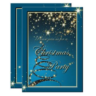 Elegant Christmas Magic Party Invite