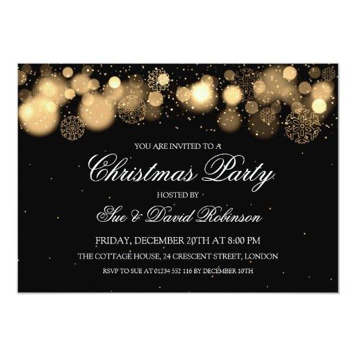 Elegant Christmas Party Winter Wonder...