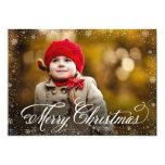 Elegant Christmas Photo Card Announcements