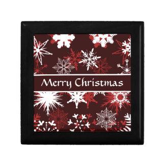 Elegant Christmas snowflakes Jewelry Box