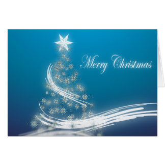 Elegant Christmas Tree Greeting Card
