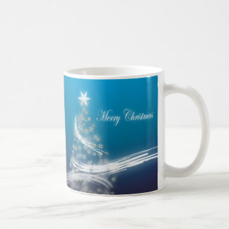 Elegant Christmas Tree Mugs
