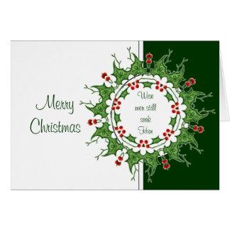Elegant Christmas Wise Men Still Seek Him Card