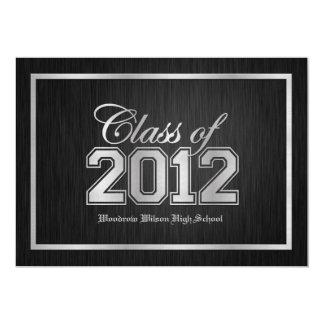 Elegant Class of 2012 Graduation Invitations