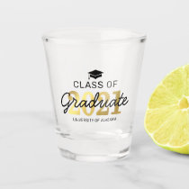 Elegant Class of 2021 Graduation Gift Shot Glass