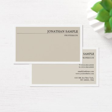 Wedding Themed Elegant Classic Colors Minimal Plain Professional Business Card