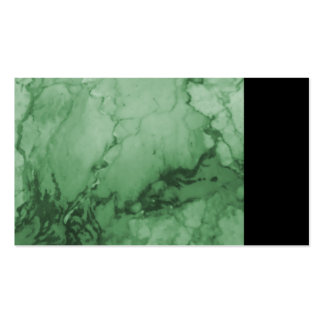 Elegant Classic Marble Chic Luxury Green Business Card