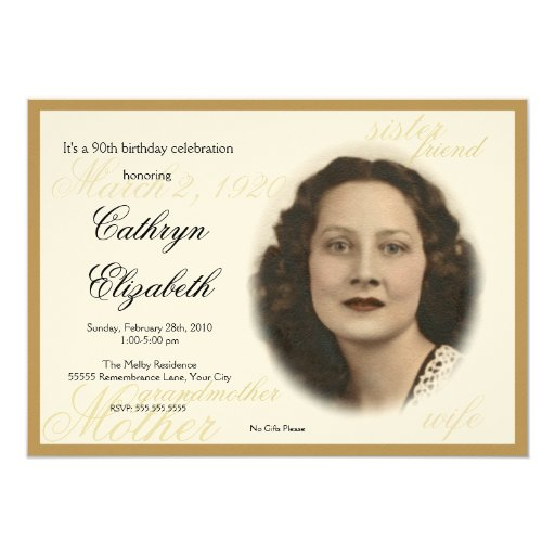 Elegant Classic Photo Invitation _New
