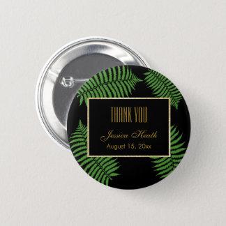 Elegant Classy Bracken Birthday Thank You Button