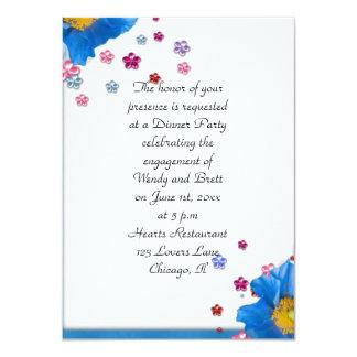 Elegant Classy ChiChi Floral Wedding Engagement Card