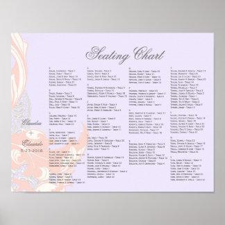 Elegant Classy Florals - Lavender, Pink, Blush Poster