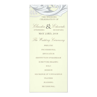 Elegant Classy Florals - Sand, Yellow, Gray Card