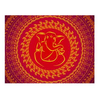 Elegant Classy Ganesh/ Indian God PostCard