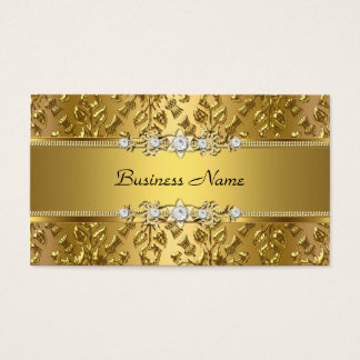 Gold Embossed Business Cards Templates Zazzle