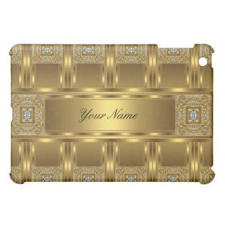 Elegant Classy Gold Jewel Pern Cover For The iPad Mini