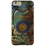 Elegant Classy Gold Metal Art Nouveau Barely There iPhone 6 Plus Case