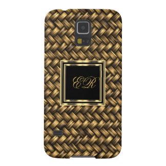 Elegant Classy Gold Metal Look Samsung Galaxy S5 Galaxy S5 Case