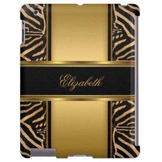 Elegant Classy Gold Zebra
