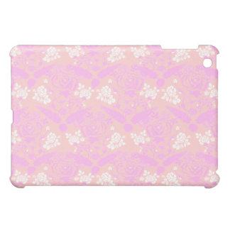 Elegant Classy Soft Pink Floral 2 iPad Mini Case
