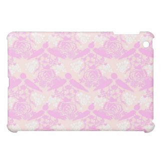 Elegant Classy Soft Pink Floral 3 iPad Mini Cases