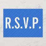 "[ Thumbnail: Elegant, Clean & Respectable ""R.S.V.P."" Card ]"