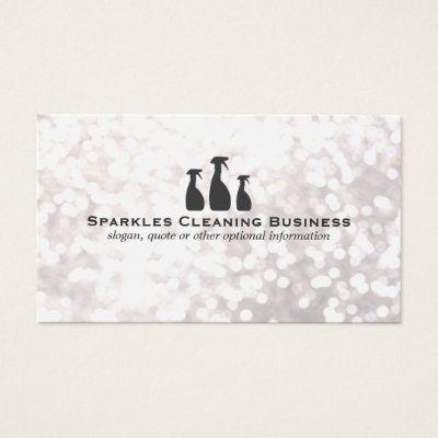 Elegant cleaning business gold and black business card zazzle reheart Choice Image