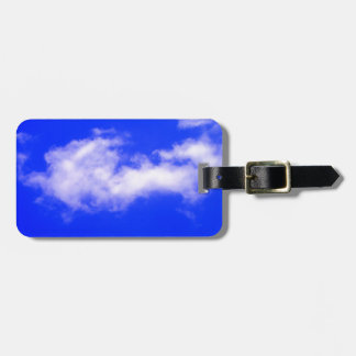 Elegant Clouds & Clean Blue Sky Bag Tags