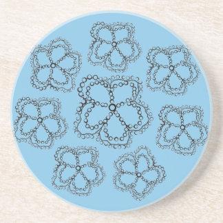 Elegant Coasters in Sandstone
