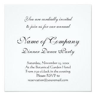Elegant Cockatoo Antique Engraving Invitation