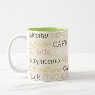 Elegant Coffee Bistro Mug