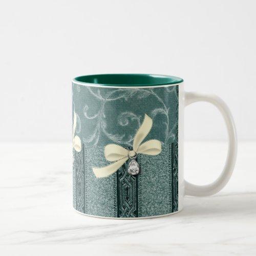 Elegant- Coffee Mug: EleganceCollection Two-Tone Coffee Mug