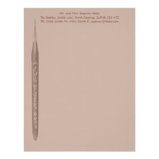 Elegant Coffee Pen Nib Stationery