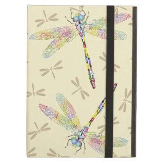 Elegant Color Splashed Dragonflies Powis Pad Air Case For iPad Air