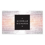 Elegant Colorful Confetti Dots on White II Double-Sided Standard Business Cards (Pack Of 100)