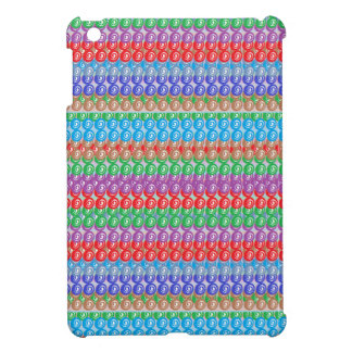 Elegant Colorful Graphic FineArt Abstract Pattern iPad Mini Cover