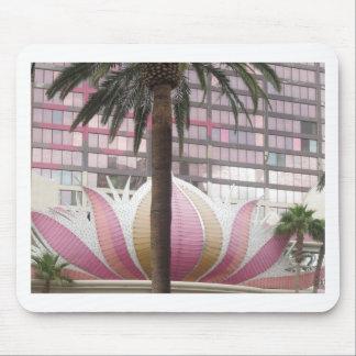Elegant Colorful LOTUS Wall Sculpture Plaster Mouse Pad