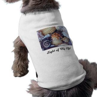 Elegant Companions Seashell Medley Doggie Tee Shirt