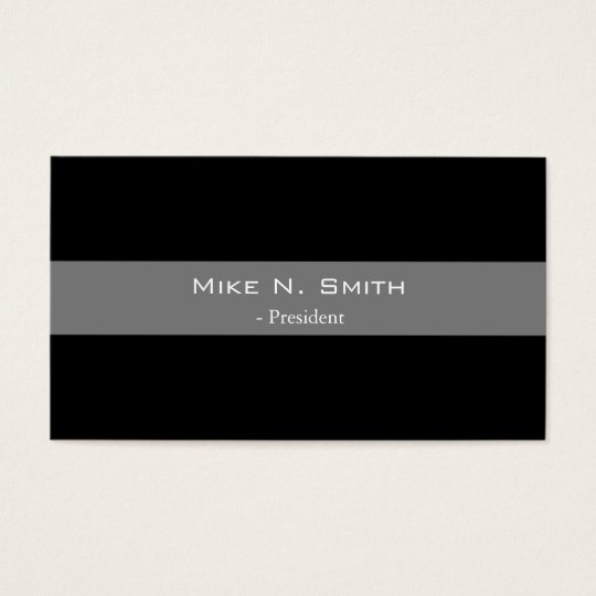 Elegant, cool black and grey  business cards. business card